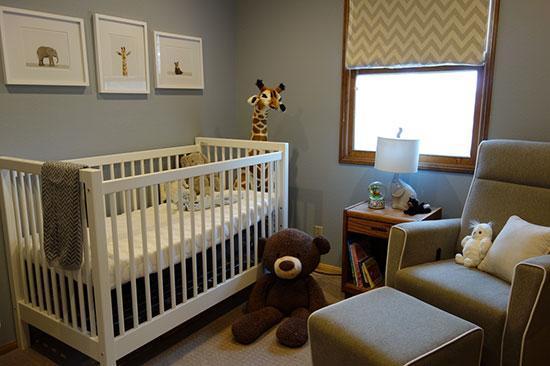 دکوراسیون اتاق نوزاد؛ کدام اتاق مناسب تر است؟