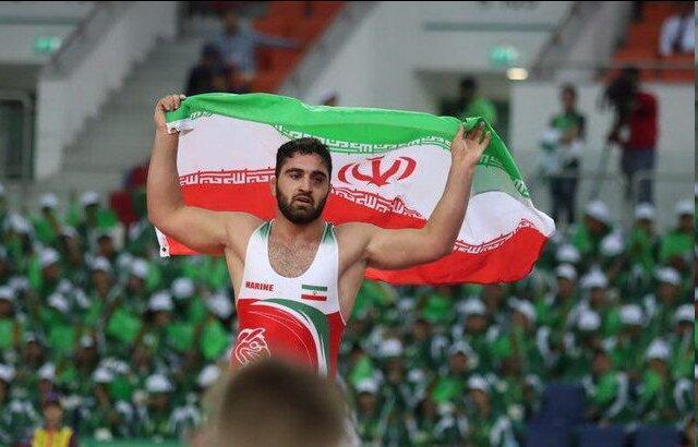 گلیج قهرمان کشتی آزاد امیدهای دنیا شد، یک طلا و یک برنز ایران در 5 وزن نخست