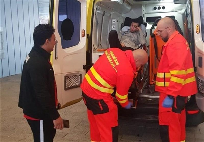 کشتی فرنگی زیر 23 سال جهان، مصدومیت شدید و انتقال ناصرپور به بیمارستان