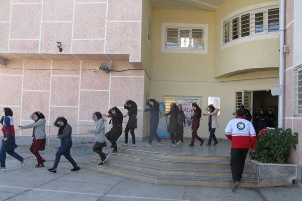 برگزاری مانور سراسری زلزله در مدارس چهارمحال وبختیاری