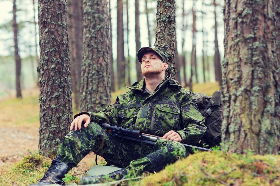 فنون محرمانه نیروهای ویژه فاش شد ، خوابیدن ظرف 2 دقیقه