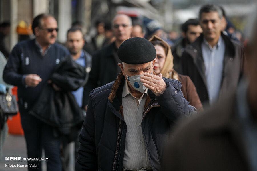 هوای تهران ناسالم است ، گروه های حساس از خانه بیرون نیایند