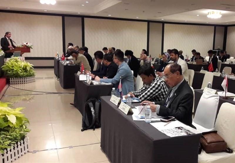 گزارش رئیس فدراسیون قایقرانی در کنگره کانوئینگ آسیا