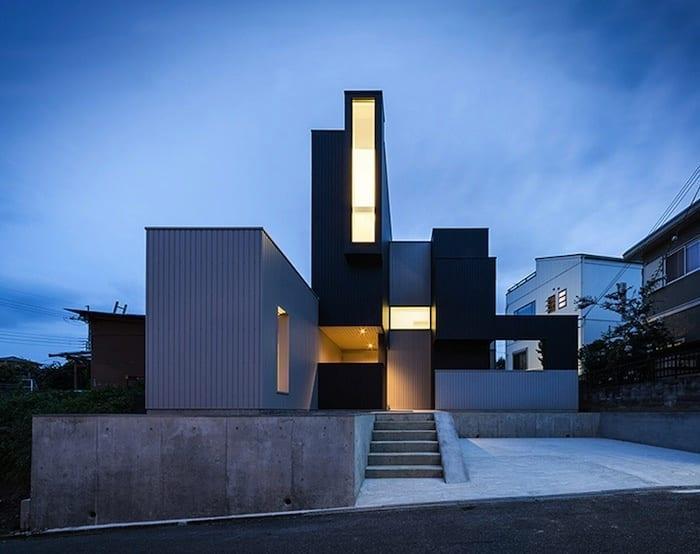 خانه ای مینیمال با چشم اندازی زیبا در Shiga