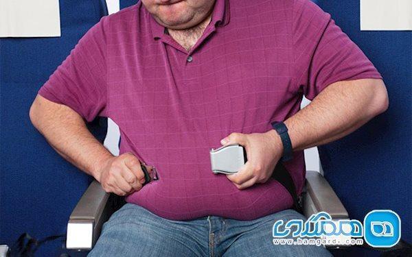 دارای اضافه وزن هستید و می خواهید با هواپیما سفر کنید؟ این مقاله را بخوانید!