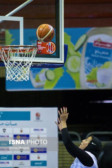 صعود نفت آبادان به پلی آف لیگ برتر بسکتبال بانوان کشور