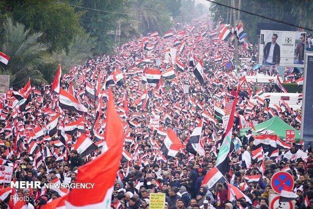 نمی توان تظاهرات میلیونی عراقی ها برای اخراج آمریکا رانادیده گرفت