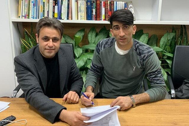 قرارداد بیرانوند و آنتورپ امضا شد