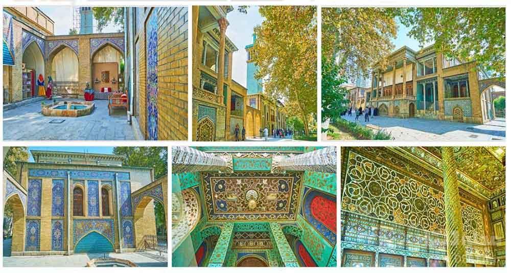 عمارت بادگیر کاخ گلستان ، یادگار قاجار