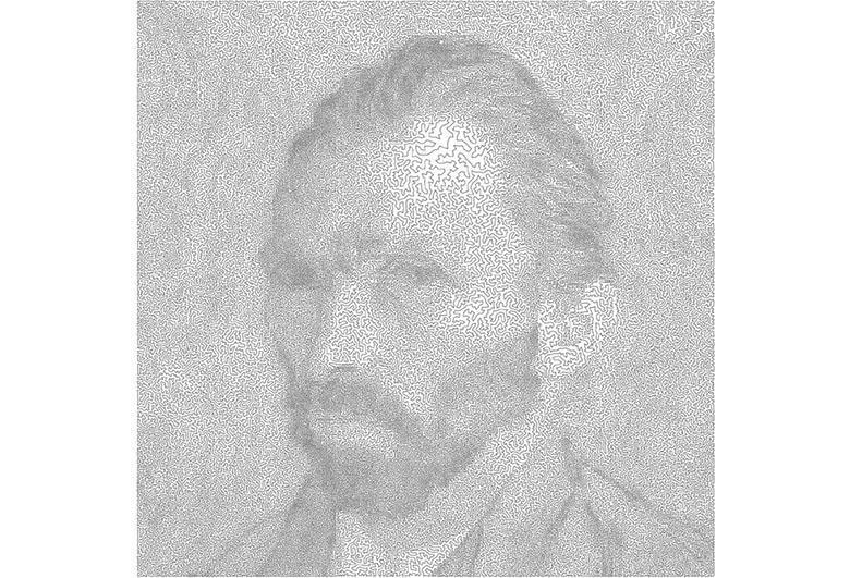 نقاشی های پیچیده ای که یک هنرمند ریاضیدان با استفاده از خطوط مارپیچی می کشد