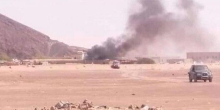 وزارت دفاع دولت هادی در مأرب بار دیگر هدف حمله موشکی نهاده شد