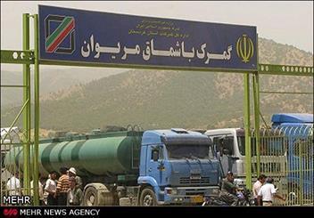 استاندار حلبچه عراق از مرز باشماق مریوان بازدید کرد