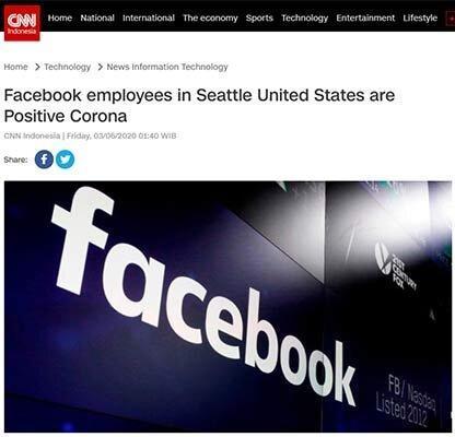 فیس بوک در سیاتل کرونایی شد