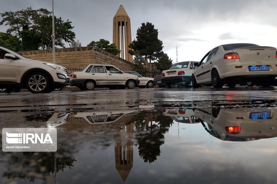 خبرنگاران همدان بارانی می گردد
