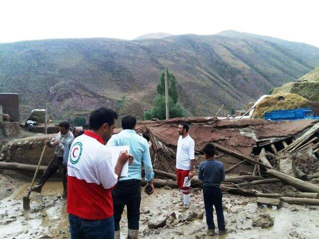 امدادرسانی به بیش از 1400 خانوار سیل زده در کرمان
