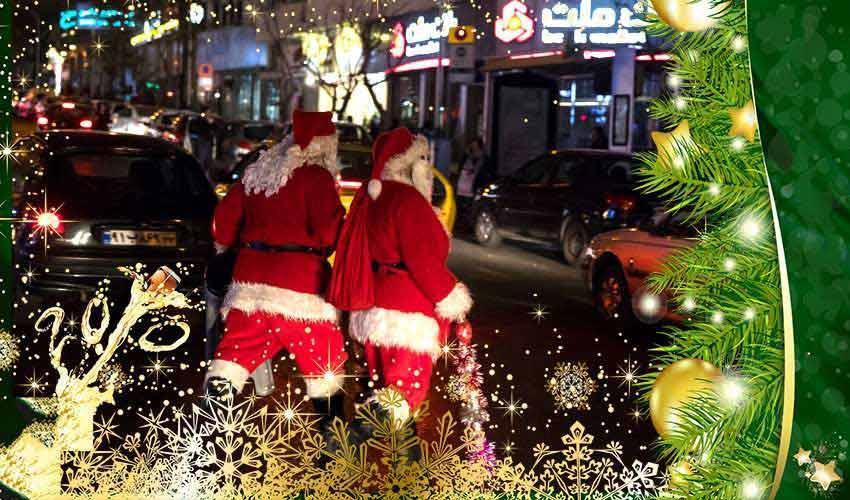 گزارش تصویری کریسمس در ایران