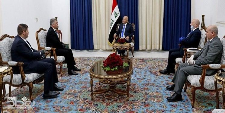 تأکید رئیس جمهور عراق بر لزوم تسریع در تشکیل دولت جدید