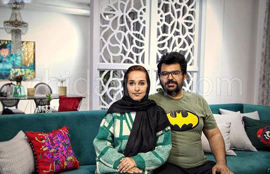 دکوراسیون لاکچری خانه محسن و سعیده در مشهد