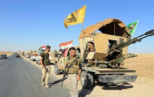 حشد شعبی حمله داعش به صلاح الدین را ناکام گذاشت