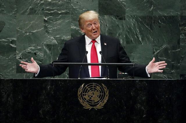 فقط ترامپ حضوری در نشست مجمع عمومی سازمان ملل سخنرانی می نماید