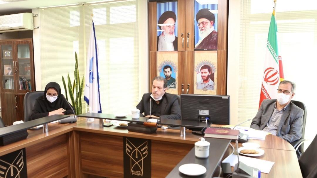 برگزاری جلسه رئیس واحد تهران جنوب با دانشجویان غیرایرانی، خواجوی: دانشجویان خارجی در برنامه های فرهنگی مشارکت بیشتری داشته باشند
