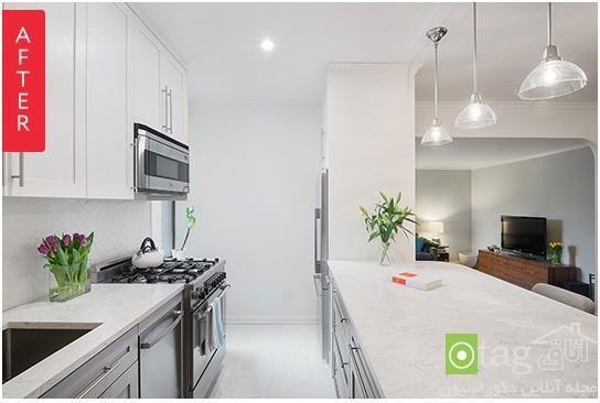 بازسازی دکوراسیون آشپزخانه ، تبدیل آشپزخانه بسته به اپن