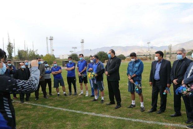 جلسه معارفه محمود فکری با حضور اعضای هیئت مدیره برگزار گشت