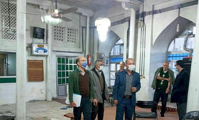 اجرای طرح مرمتی مسجد جامع تاریخی خمس شروع شد