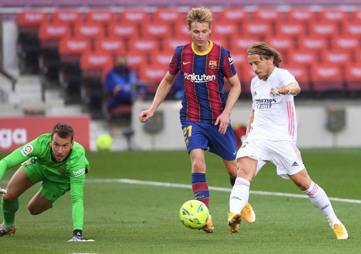 بارسلونا 1 - رئال مادرید 3؛ تداوم رکورد شکست ناپذیری زیدان در نیوکمپ