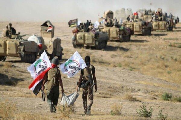 شروع عملیات امنیتی حشد شعبی در استان الانبار عراق