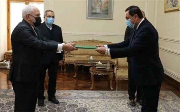 سفیر جدید سوریه استوارنامه خود را به ظریف تقدیم کرد