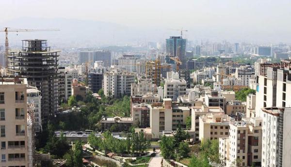 کورس قیمت مسکن بین تهران و سایر شهرها