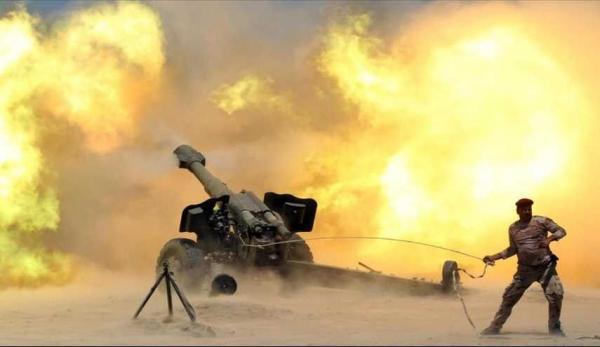 خبرنگاران گلوله باران مخفیگاه های داعش و دستگیری تروریستها در عراق