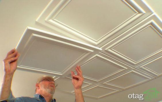 سقف اتاق خواب جوان، معرفی ایده های جذاب و ساده برای طراحی