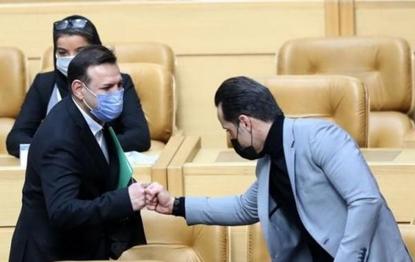 (عکس) درخواست جالب علی کریمی از رئیس فدراسیون فوتبال