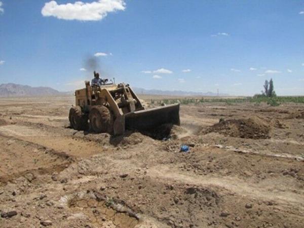 خبرنگاران هشت هزار متر اراضی ملی در سرپل ذهاب رفع تصرف شد