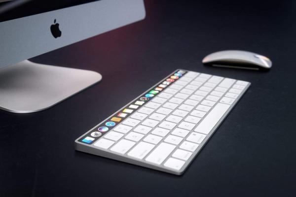 رونمایی اپل از کیبورد جادویی با حسگر اثر انگشت