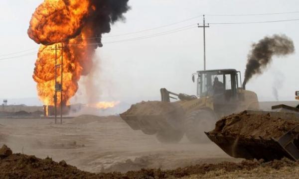 حمله داعش به 2 چاه نفتی در کرکوک عراق