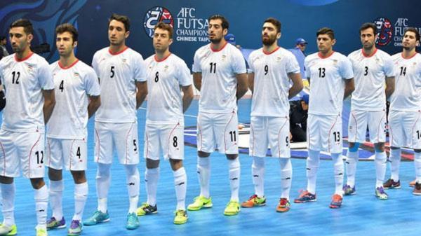 حریفان تیم ملی در جام جهانی فوتسال معین شدند؛ همگروهی ایران با آرژانتین و آمریکا