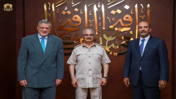 ملاقات خلیفه حفتر با میانجی سازمان ملل در لیبی