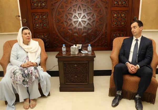 ملاقات معاون دبیرکل سازمان ملل با تیم های مذاکراتی افغانستان و طالبان