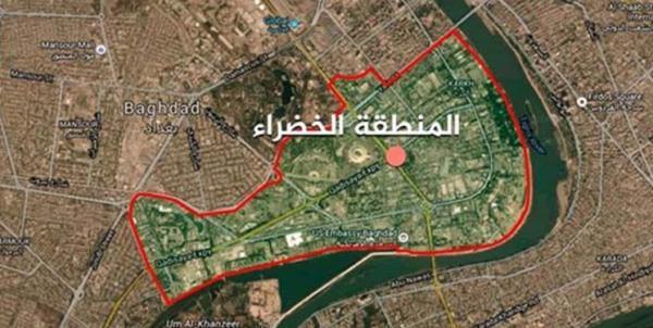 حمله پهپادی به بخش نظامی سفارت آمریکا در بغداد