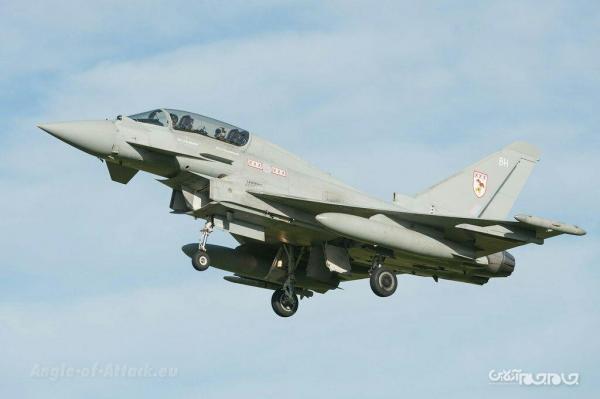 حضور جنگنده های تایفون انگلیسی در قطر