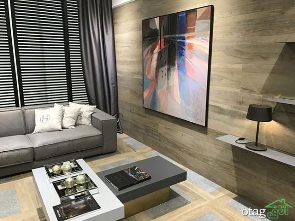 طرح های نو انواع کفپوش و دیوارپوش برای منازل مسکونی