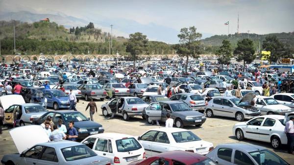 ادامه کاهش قیمت ها در بازار خودرو ، پراید و پژو همچنان در راستا کاهشی